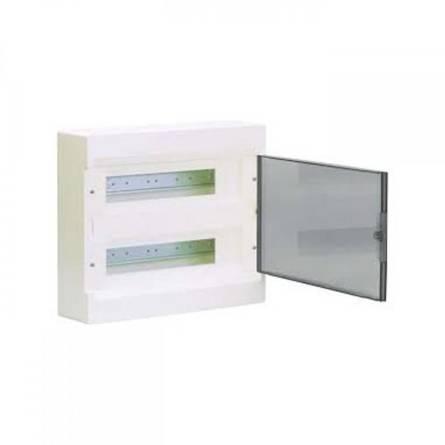 Щит з прозорими дверцятами 24модулів.COSMOS VD212TD Hager