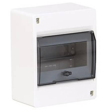 Щит з прозорими дверцятами 6 модулів COSMOS VD106TD Hager