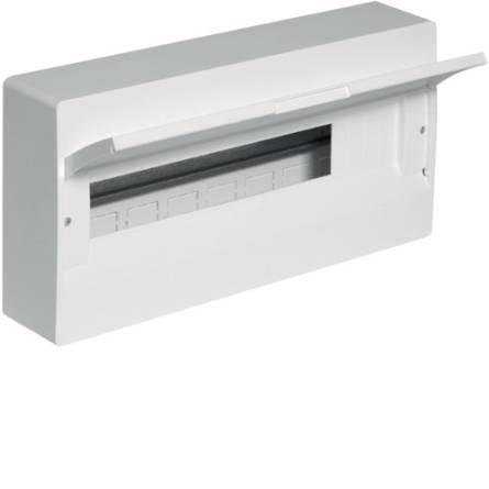 Щит з білими дверцятами 18 модулів COSMOS VD118PD Hager