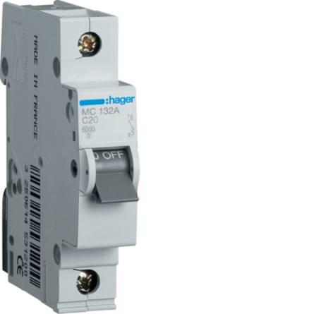 Автоматичний вимикач 32/1 MC132A/С Hager
