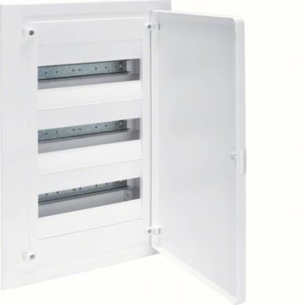 Щит з білими дверцятами 36 модулів 3x12 GOLF VF312PD Hager