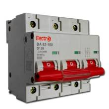 Автоматичний вимикач 125/3  ВА 63-100/D  ELEKTRO