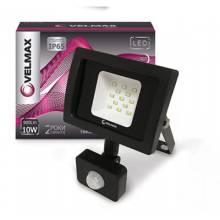Прожектор світлодіод. з датч руху 10 Вт VELMAX