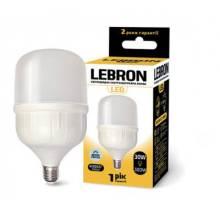 Лампа 30W Е27 6500К LEBRON світлодіодна