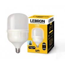 Лампа світлодіодна LEBRON 40Вт 6500K Е27+E40