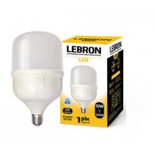 Лампа світлодіодна LEBRON 50Вт 6500 Е27+E40