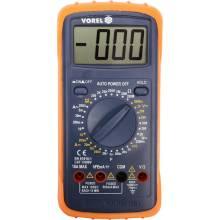 Тестер Vorel цифровий універсальний 81783