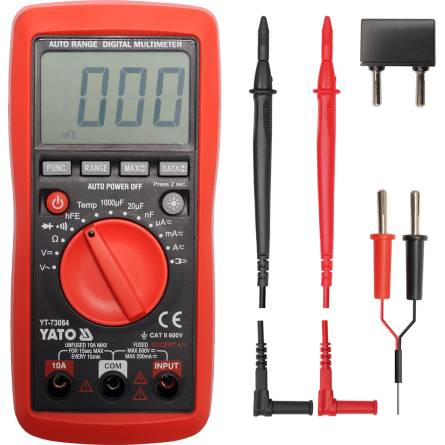 Тестер Yato цифровий універсальний YT-73086
