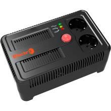 Стабілізатор НСТ-500 140-260В, 2 розетки,релейного типу Electro