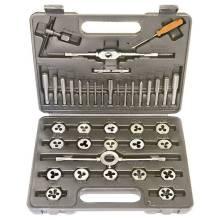 Набір мітчиків і  плашок М3-М12 40 предметів Sparta 773155