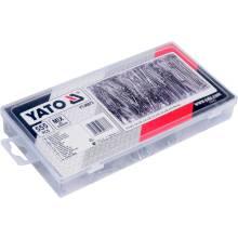 Набір шплінтів прямі 555шт  YT-06873  YATO