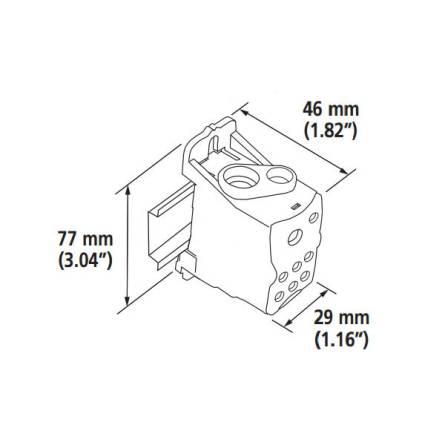 Блок розподільчий JHUKK-160