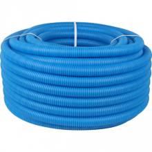 Труба гофра 21 мм синя(7115202)