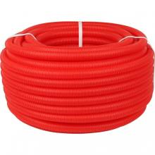 Труба гофрована 21 мм червона (7115201)