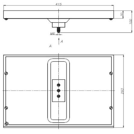 Конфорка КЕ-012/3 кВт (417/295мм, 16кг)