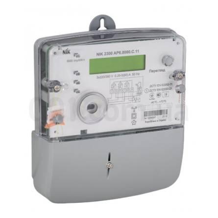 Лічильник електричної енергії трифазний НІК 2300 AP6 5-80А