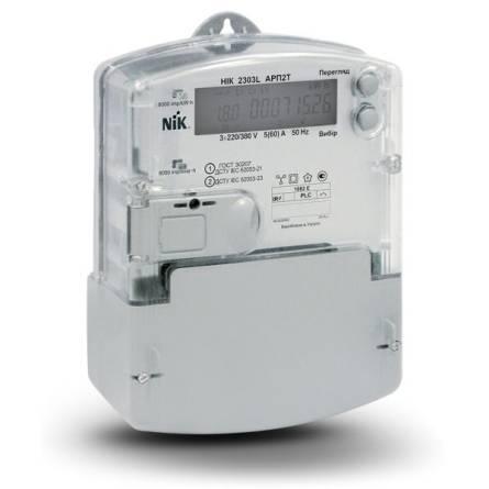 Лічильник електричної енергії трифазний НІК 2303L АRP3Т 5-120А 4Т
