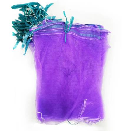 Сітка-мішок 45*75 30кг фіолетова 69-227-1