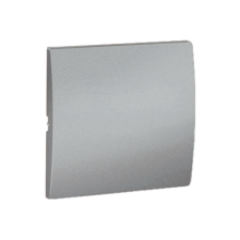 Клавіша вим. 1-кл МКW1/26 металік алюм