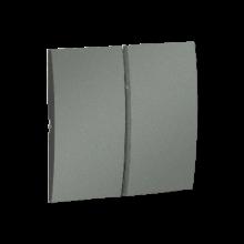 Клавіша вим. 2-кл МКW5/25 металік графіт