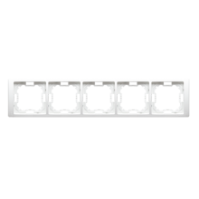 Рамка 5-а MR5/11 біла