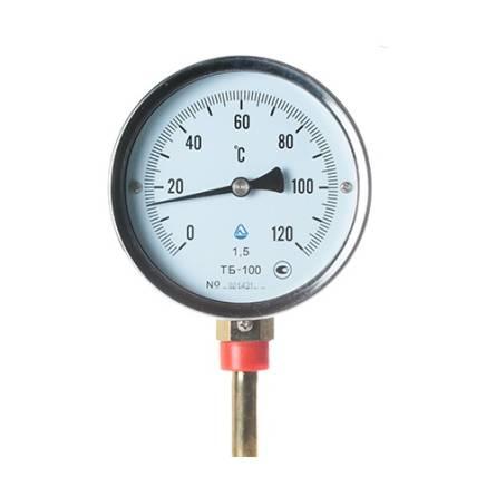 Термометр ТБ - 100-100 0+120 1,5-Р