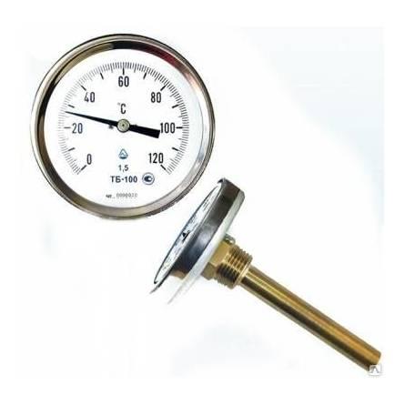 Термометр ТБ - 100-100 0+150 1,5-Р