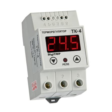 Терморегулятор ТК-4-50+125 1канальний