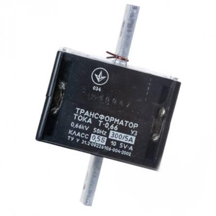 Трансформатор струму Т- 0,66  300/5