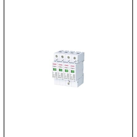 Обмежувач перенапруги на DIN YCS6-C 2P 20-40kA CNC