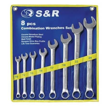 Набір ключів комбінов. 6шт(10-17мм) SR 670062206