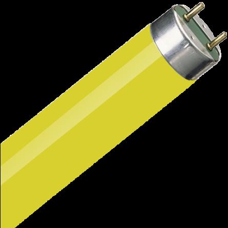 Лампа Electrum люмінісцентна 18/16 жовта