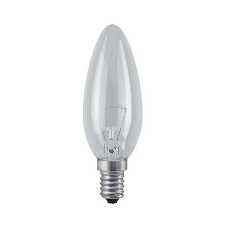 Лампа OSRAM BW (свіча хрустальна) SIL(біла) 25W E14