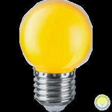 Лампа 15W Е27 желтая GE