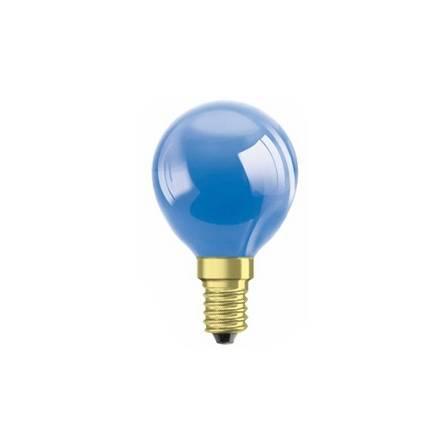 Лампа OSRAM DECOR P(шар) 25W E14 синій