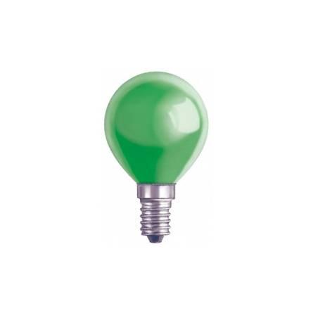 Лампа OSRAM DECOR P(шар) 25W E14 зелений