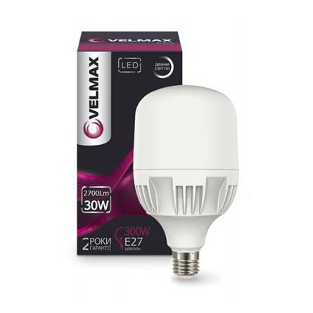 Лампа 30W Е27 6500К Velmax світлодіодна
