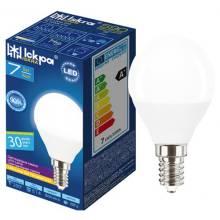 Лампа 7W Е14 4000К куля Іскра світлод.