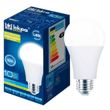 Лампа 10W Е27 4000К Іскра світлодіодна