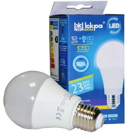 Лампа 12W Е27 4000К Іскра світлодіодна
