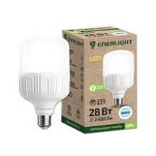 Лампа 28W Е27 6500К ENERLIGHT світлодіодна