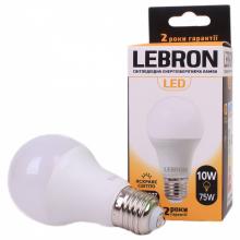 Лампа світлодіодна LEBRON 10Вт 4100 Е27 00-10-12