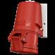 32A 4П 400В розетка настінна IP44 Mennekes (27006)
