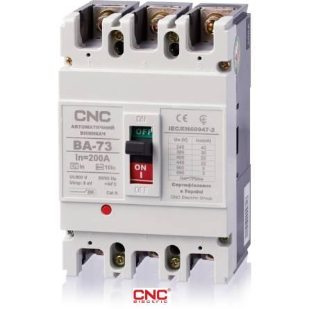 Автоматичний вимикач ВА 73 160А 3 полюси 380В CNC