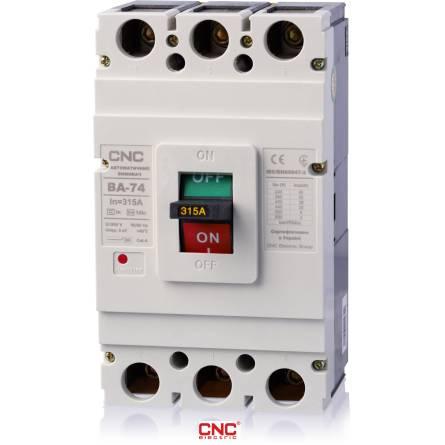 Автоматичний вимикач ВА 74 315А 3 полюси 380В CNC