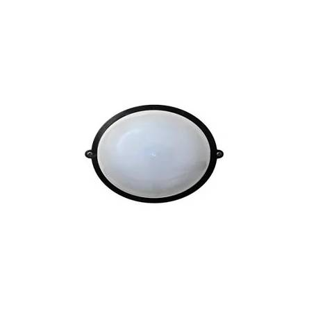 Світильник НББ-3 64-60 круглий чорний без решітки (GERA312)