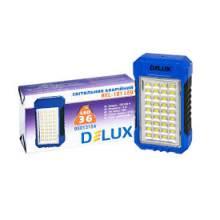 Свiтильник аварійний REL-101 36 LED DELUX