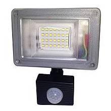 Прожектор світлодіодний з датчиком руху 20 Вт Farutti Slim