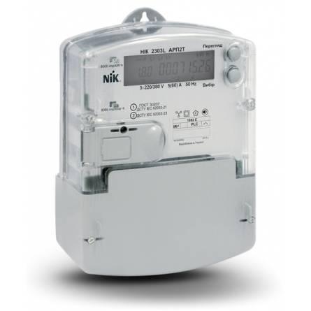 Лічильник електричної енергії трифазний НІК 2303L АRP3 5-120А 1Т
