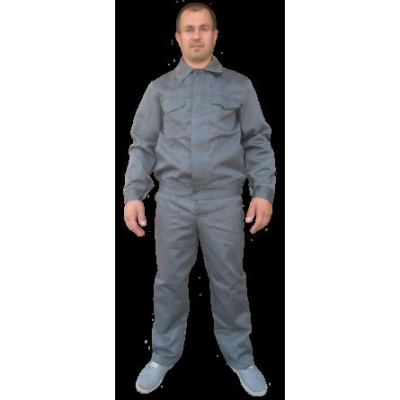 Напівкомбінезон, куртка , (тканина Евро-1) сірий